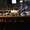 夜の空港で飛行機撮影に挑戦!
