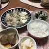 塩麹味の肉豆腐