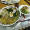 大手町【デイナイト 大手町店】週替わり麺セット ¥880+大盛 ¥100
