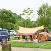 キャンプ前日準備