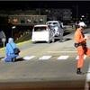 横断歩道の小学生3人はねられ1人意識不明