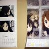 アニメ『けいおん!!』2011年カレンダー到着なう。