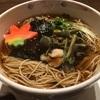 橋本駅の人気店!!蕎麦ひのや『山菜そば』を食す。出汁の効いたつゆがやたらと美味い!!