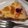 ダイエット~67日目~と、FLOの「黄桃とチェリーのプリンタルト」