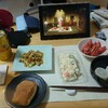野菜炒めチキンタイカレー風
