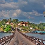 今年最後の旅はやはりタイ、西部の「カンチャナブリー」、ミャンマー国境の「サンクラブリー」へ!!