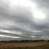 12月25日のウネウネ雲