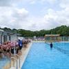 水泳の授業 1年生