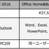 Microsoft Office (最新)ダウンロード版製品の購入、Professional、Home and Business