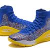 Under Armour Curry 4 Hight /ブルー/イエロー メンズ Under Armour 1295995-403 アンダーアーマー カリー 4 ハイト YELLOW/BLUE Mens 青黄 メンズ バスケットボール シューズ