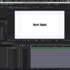 【使わないとよく忘れちゃう...基本中の基本】ファイルの読み込み[フッテージ][コンポジション] After Effects CC 2018