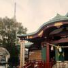 亀戸天満宮の梅withスカイツリー(の写真を目指しましたが難しかったですorz)