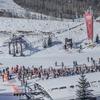 初滑り in ユタ州