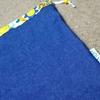 巾着袋の作り方 (ピスネーム付き)