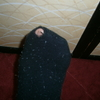 靴下に穴が開いたから縫ってみたら、高校生の時の家庭科の授業を思い出した。