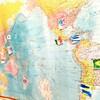 国旗のメモリーゲームでどう遊ぶ?~国旗から世界に興味をもつ(5歳)