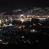 日本三大夜景のひとつ。