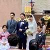 チャンミンの妹さん祝結婚式👰