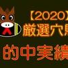 【的中実績】2020年度~厳選穴馬の成績~【馬券確率21.8%‼】