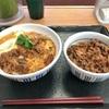 牛とじ丼と和風牛丼の2種類をいただきました  @なか卯  一宮インター店