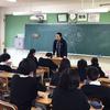 「語り愛」城南中学校3年生講話