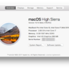【MacBook Pro Mid 2010】macOS High Sierra 10.13 beta3にアップデートしてみた!!