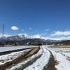 雪国暮らし、冬の散歩道。(長野県大町市)