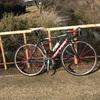 久しぶりに自転車乗る