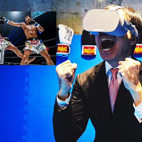 【VRゴーグルプレゼント】実況アナウンサーがVR格闘技を実況すると、VRの迫力はどれくらい伝わるのか?