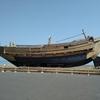 野辺地漁港で北前船を見てきました。