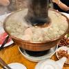 圍爐(ウェイルー) で酸菜白肉火鍋を(台北)