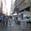 NY旅行記 Momaの帰りにたまたま見つけたマーケットは国際色豊かなお店ばかり^^