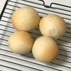 リキュールパン、チキングリルとブロッコリーグリルとカボチャスープ