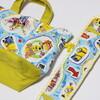 園児用の保冷付き巾着お弁当袋&水筒ベルトカバー