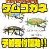 【ガウラクラフト】ラバーが生えたハードプラグ「ケムコガネ」通販予約受付開始!
