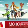 2Dアニメーション作成ツール【MOHO12】を使ってみる!