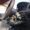 入間市からレッカー車でカギの無い車検切れ故障車を廃車の引き取りしました。
