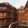 タメル地区の中心街のホテル「Hotel Access Nepal」 @ カトマンズ