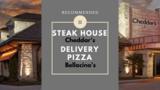 オハイオ州のステーキハウス【Cheddar's】と持ち帰りピザ屋【Bellacino's】