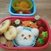 ~しろくまちゃんのホットケーキ弁当・ハンバーグレシピあり~冷凍食品を使わず可愛いお弁当
