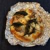 ホームベーカリーで作る鶏と舞茸のピザのレシピ