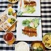 とんかつの写真ときゅうりのみそ漬け(レシピ付)/Pork Cutlet&Cucumber Pickled in Soybean Paste(Miso)