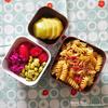 #880 桜海老とキャベツ、トマトのフジッリ弁当