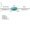 GNS3でネットワーク学習「BGP+Static」
