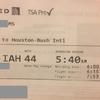 米国空港にてTSA Precheckの謎