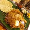 夕食はマレー風のチキン・ビリヤニ@Boss Curry House