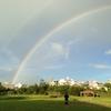 朝起きて大きな虹を見ながら考えた「ブログをする目的」の話①