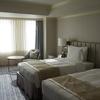 【マリオットゴールド特典】名古屋マリオットに家族4人でポイント宿泊、アップグレードされたデラックスツインのお部屋