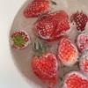 無農薬な苺を無添加のサリーで洗いましょう♡