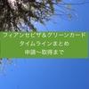 【国際結婚 ビザ】フィアンセビザ・グリーンカード取得までのタイムラインを記載